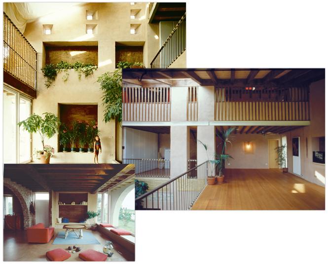 Organika progetti in evidenza la casa nel fienile for Progetti di piani casa fienile