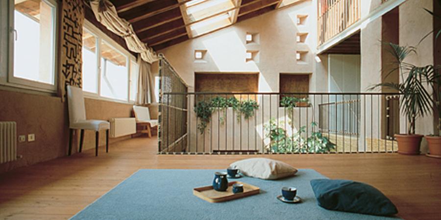 Casa nel fienile organika for Fienile casa piani casa
